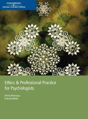 Cover of Ethics and Professional Practice for Psychologists