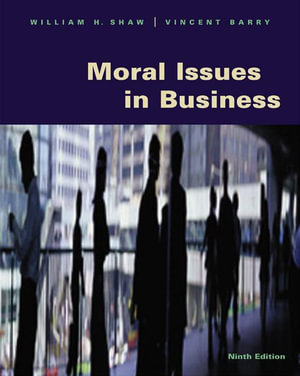Cover of Moral Issues in Business