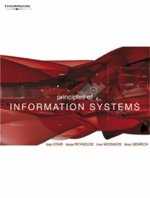 Cover of Principles of Information Systems