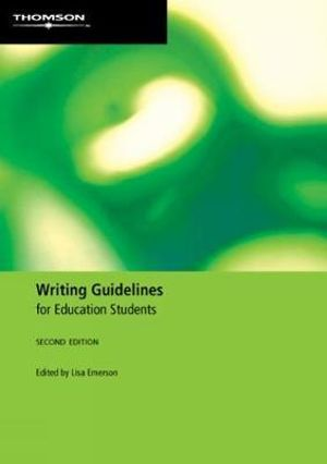 Cover of Writing Guidelines for Education Students