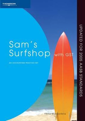 Cover of Sam's Surfshop with GST