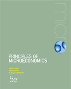 Cover of Bundle: Microeconomics - Case Studies and Applications + Principles of  Microeconomics with Student Resource Access 6 Months + Aplia Notification Card