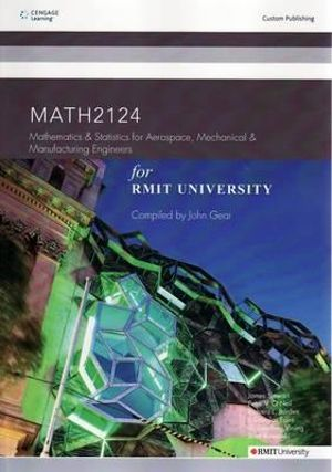 Cover of CP098: Mathematics and Statistics for Aerospace, Mechanical and Manufacturing Engineers