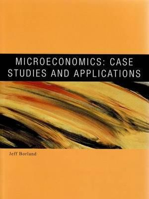 Cover of PP0209 Microeconomics: Case Studies and Applications