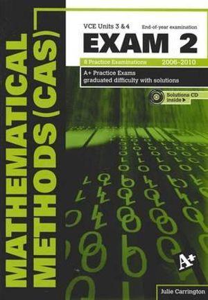 Cover of Mathematical Methods (CAS) Exam 2