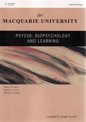 Cover of CP0443: Biopsychology and Learning
