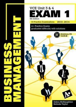 Cover of Business Management Exam VCE Units 3 and 4