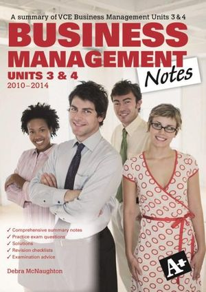 Cover of A Plus Business Notes