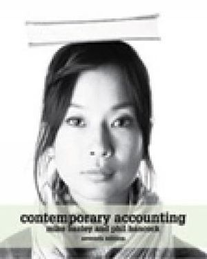 Cover of Contemporary Accounting