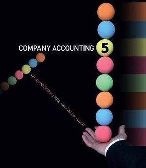 Cover of Company Accounting : Australia-New Zealand Edition with Student  Resource Access 12 Months