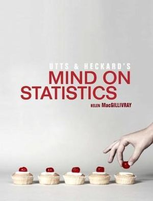 Cover of Utts and Heckard's Mind on Statistics