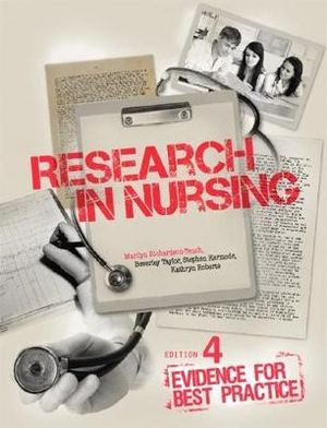 Cover of Research in Nursing :  Evidence for Best Practice with Student Resource  Access 12 Months