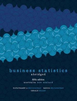 Cover of Business Statistics Abridged Australia New Zealand