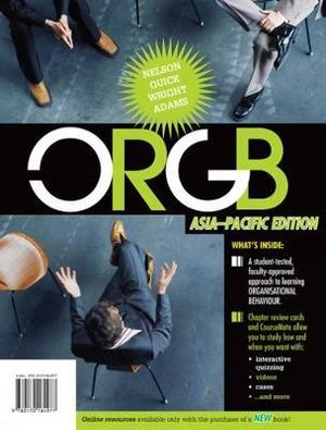 Cover of ORGB  : Asia Pacific Edition