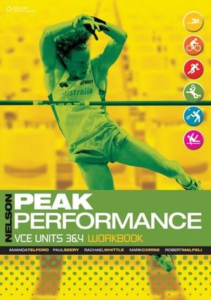 Cover of Nelson Peak Performance VCE Units 3 & 4