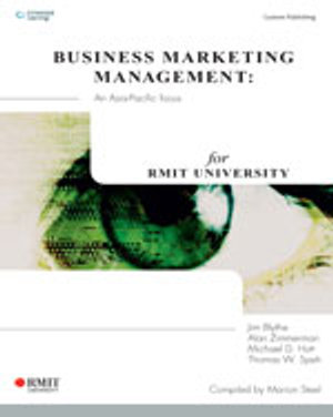 Cover of CP0524 Business Marketing Management: An Asia Pacific Focus