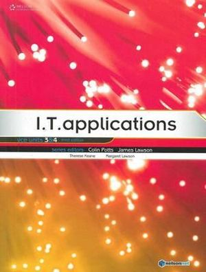 Cover of I.T. Applications