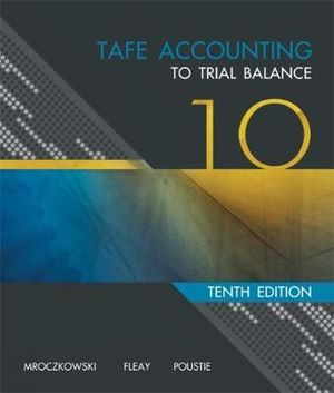 Cover of TAFE Accounting : To Trial Balance