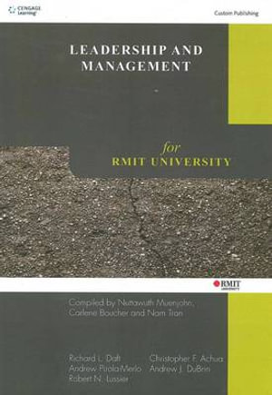 Cover of Leadership and Management