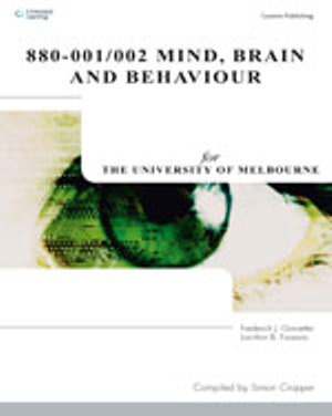 Cover of Mind, Brain and Behaviour