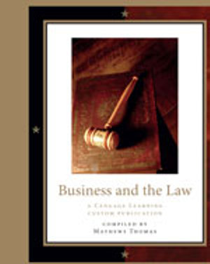 Cover of Business and the Law