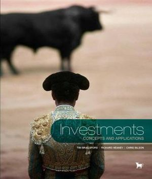 Cover of Investments : Concepts & Applications with Student Resource Access 12  Months