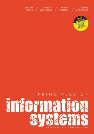 Cover of Principles of Information Systems with Student Resource Access 12 Months