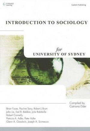 Cover of Introduction to Sociology