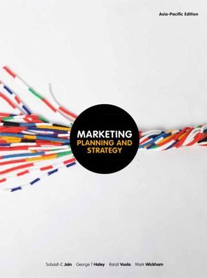 Cover of Marketing : Planning and Strategy with Student Resource Access 12 Months