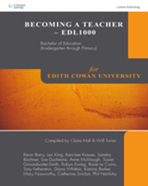 Cover of CP0566 Becoming a Teacher EDL1000: Bachelor of Education (Ki