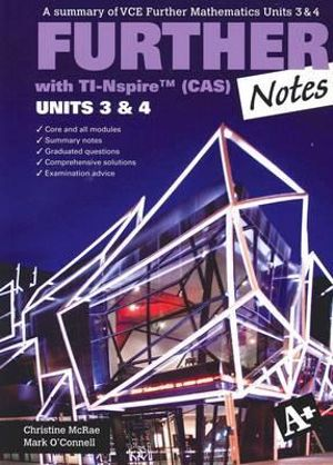 Cover of Further Notes VCE Further Mathematics Units 3 & 4