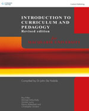 Cover of CP0512 Introduction to Curriculum and Pedagogy