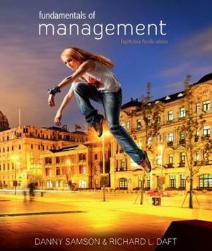 Cover of Fundamentals of Management: Asia Pacific Edition with Student Resource Access 12 Months