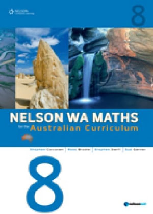 Cover of Nelson WA Maths for the Australian Curriculum 8