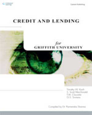 Cover of CP0597: Credit and Lending