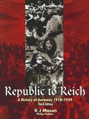 Cover of Republic to Reich