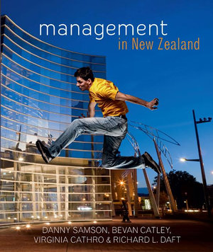 Cover of Management in New Zealand