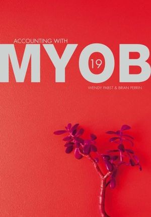 Cover of PP0685 Accounting for MYOB 19
