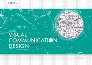 Cover of Nelson Visual Communication and Design VCE Units 1-4 Workbook