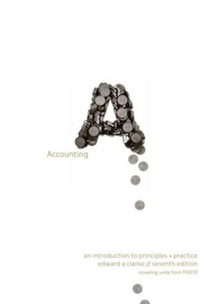 Cover of Accounting : An Introduction to Principles & Practice Workbook