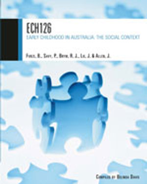 Cover of ECH126 - Early Childhood in Australia