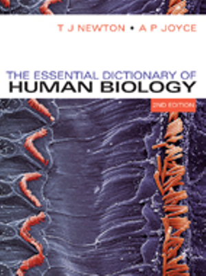 Cover of Essential Dictionary of Human Biology