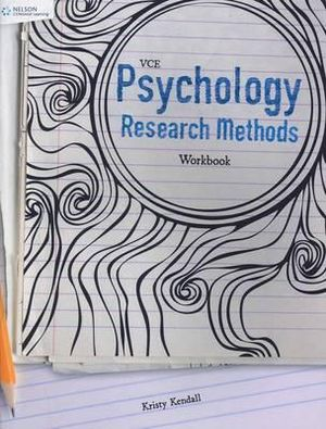 Cover of VCE Psychology Research Methods