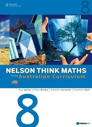 Cover of Nelson Think Maths for the Australian Curriculum