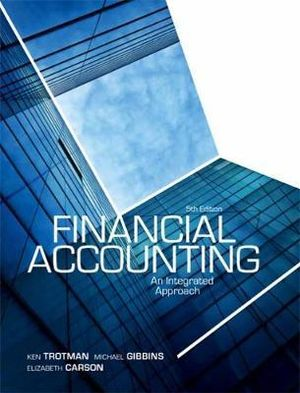 Cover of Financial Accounting: An Integrated Approach