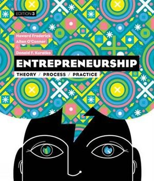 Cover of Entrepreneurship : Theory, Process, Practice