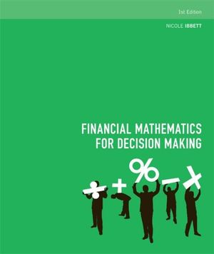 Cover of Financial Mathematics for Decision Making