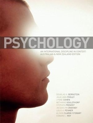 Cover of Psychology: An International Discipline in Context: Australian & New Zealand Edition
