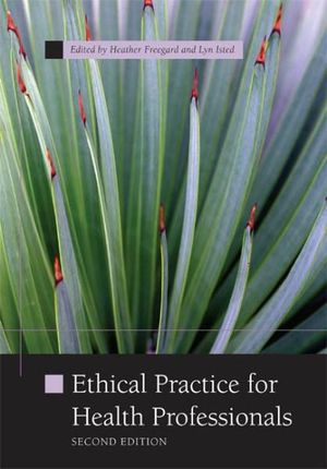 Cover of PP0710 - Ethical practice for health professionals