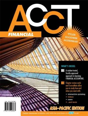 Cover of Financial ACCT : Asia-Pacific Edition with Student Resource Access for 12 Months